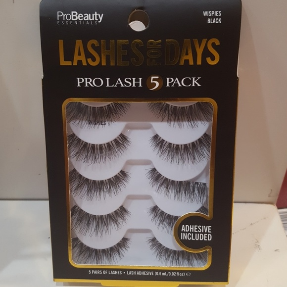 3c20f04ec28 pro beauty essentials Makeup | Probeauty Lashes For Days 5 Pack ...